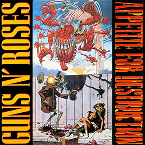 Appetite for destruction, Guns n' Roses