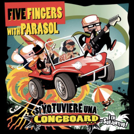 FIVE FINGERS WITH PARASOL