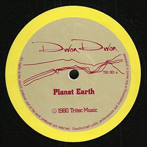 Planet Earth de Duran Duran