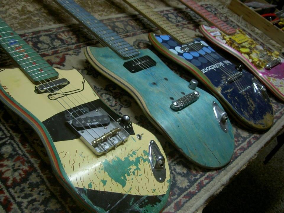 Skate guitars DYI
