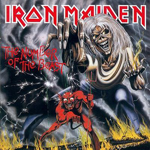 The Number of the Beast, Iron Maiden 300copia