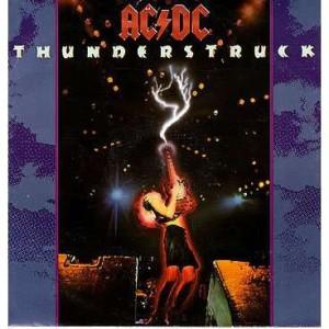Thunderstruck, AC DC.