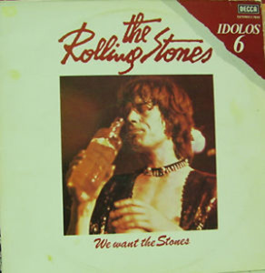 We Want The Stones, rolling