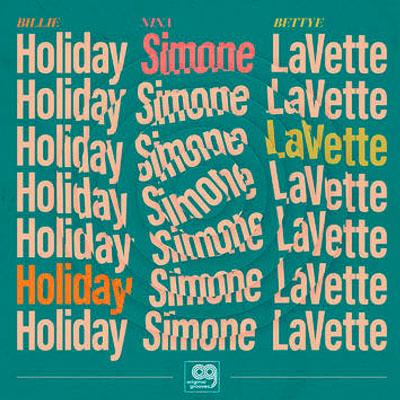 billie holiday, nina simone, bettye lavette original grooves: billie holiday, nina simone, bettye lavette