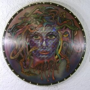 picture disc label sofa