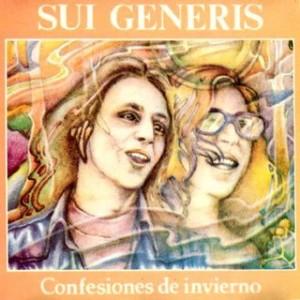 sui generis, confesiones de invierno