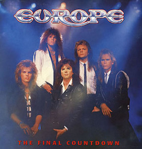 the final of countdown, europe